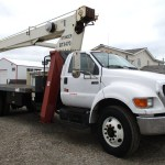 Terex Bt 3470 17 Ton Boom Truck Crane On Ford F750 For Sale Trucks Material Handlers 11678 Cranemarket
