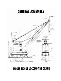 Rail Equipment Railroad Cranes Specifications CraneMarket