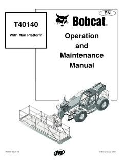Telehandlers Bobcat T40140 Specifications CraneMarket