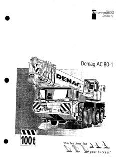 Demag AC 80-1 Specifications CraneMarket