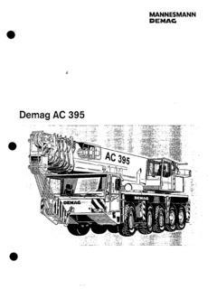 Demag AC 395 Specifications CraneMarket