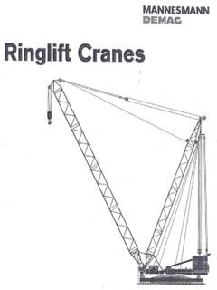 Cranes & Material Handlers Ringer Specifications CraneMarket