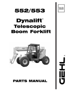 Gehl 553 Specifications CraneMarket