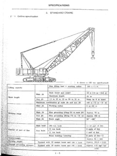 IHI CCH1800-3 Specifications CraneMarket