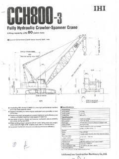Crawler Cranes IHI Specifications CraneMarket Page 2