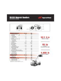 Telehandlers Ingersoll Rand Specifications CraneMarket