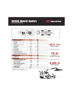 Ingersoll Rand VR-843C Specifications CraneMarket
