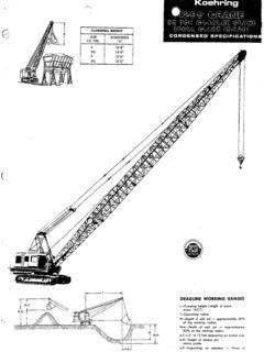 Koehring Specifications CraneMarket