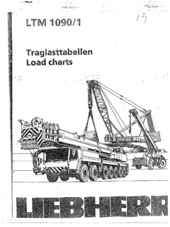 Liebherr LTM 1090/1 Specifications CraneMarket