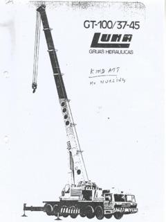 Luna GT-100/37-45 Specifications CraneMarket