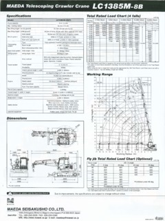Maeda Specifications CraneMarket Page 2