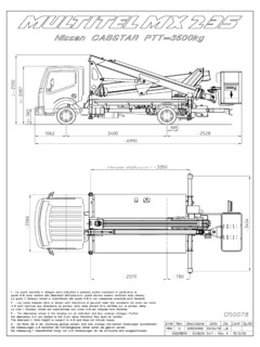 Multitel MX 235 Specifications CraneMarket