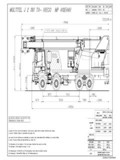 Multitel Specifications CraneMarket