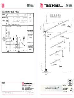 Terex Peiner Cranes for Sale and Rent CraneMarket