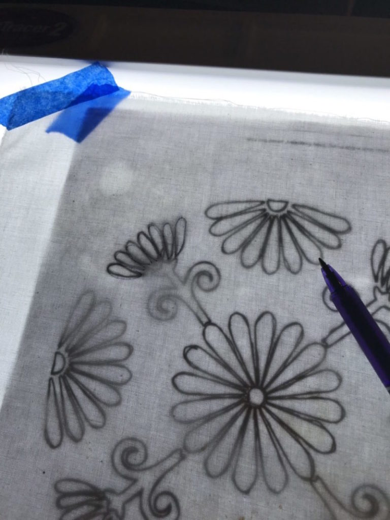 Embroidery Transfer Paper Printer : embroidery, transfer, paper, printer, Transfer, Embroidery, Design, Fabric, Create, Whimsy