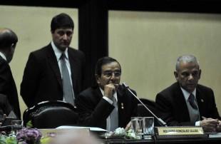 El diputado del PLN, Rolando González. Foto H.Arley