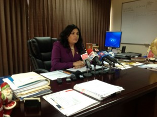 Cristina Ramírez, ministra de Justicia. CRH.