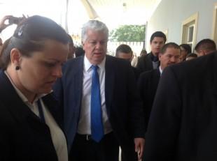 En la imagen el Ministro de la Presidencia, Melvin Jiménez. CRH