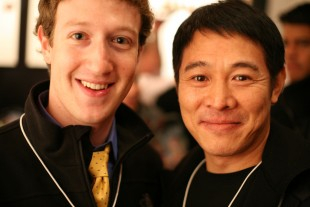 Mark Zuckerberg y Ji Lee. (Tomada de Internet).