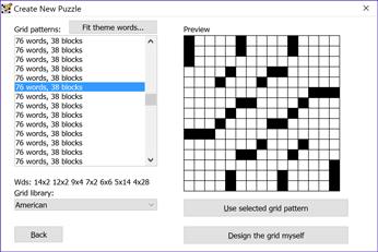Crossword Compiler: Features