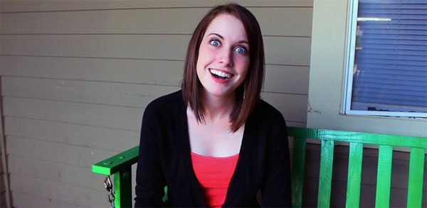 overly attached girlfriend uses