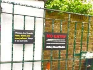 No Entry UK