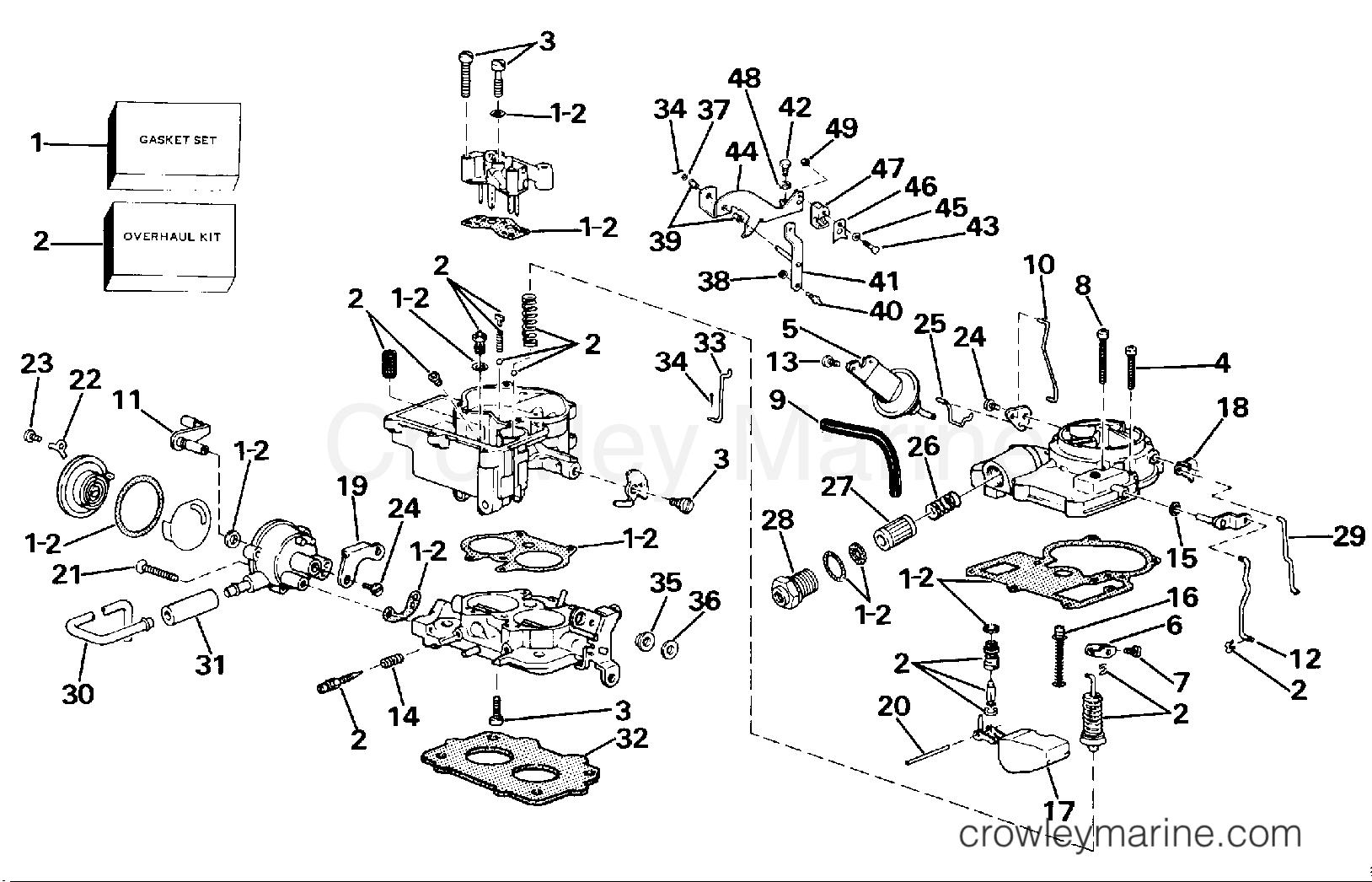 carburetor group