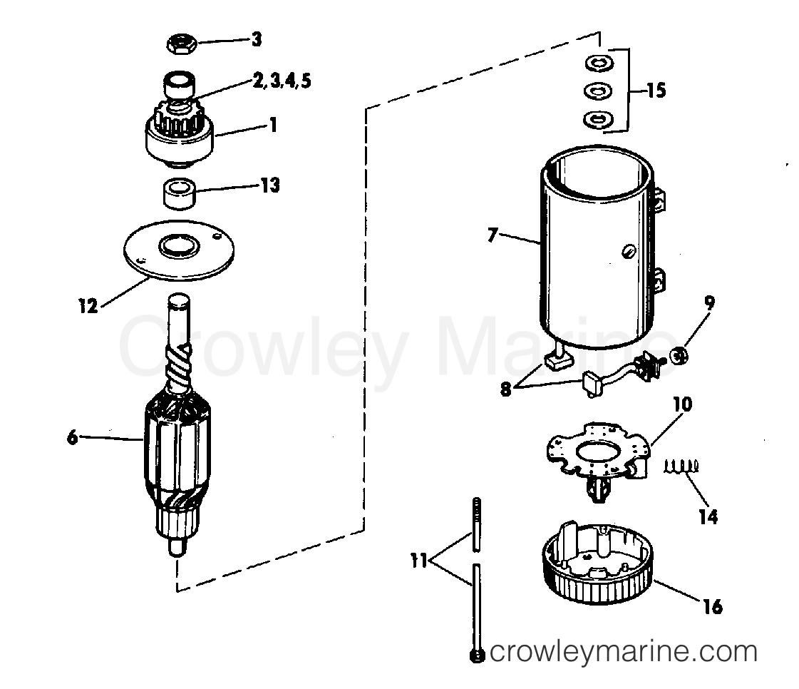 Electric Starter Prestolite Models Mkw