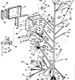 1995 omc stern drive 5 50faphub engine wire harness bracket section [ 1280 x 1646 Pixel ]