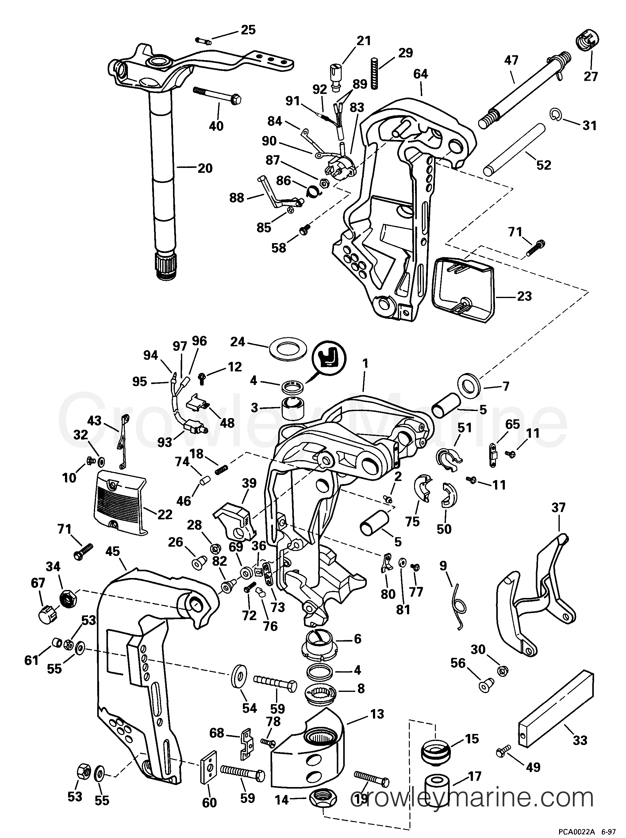 Diagram Mercury 150 Outboard
