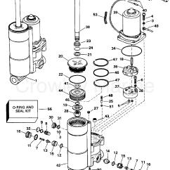 Mercury Outboard Power Trim Wiring Diagram 99 Mitsubishi Eclipse Alternator E Tec 40hp 2010 Parts Barnacle Bill 39s Marine