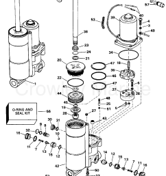power trim tilt 1996 evinrude outboards 40 be40eeds crowley marine rh crowleymarine com 2wire evinrude tilt diagram evinrude trim motor replacement [ 2488 x 3282 Pixel ]