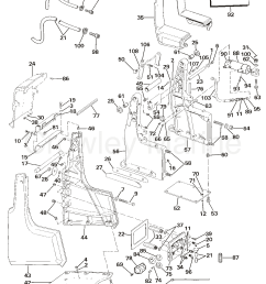 transom bracket assembly hydraulic steering 1984 omc sea drive omc wiring 1984 omc sea drive 1 [ 1153 x 1493 Pixel ]