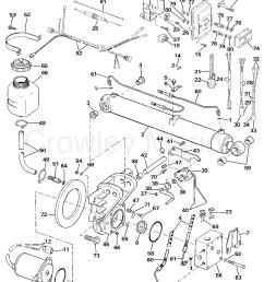 1987 omc sea drive 2 7l port engine 27apphd selectrim  [ 1141 x 1453 Pixel ]