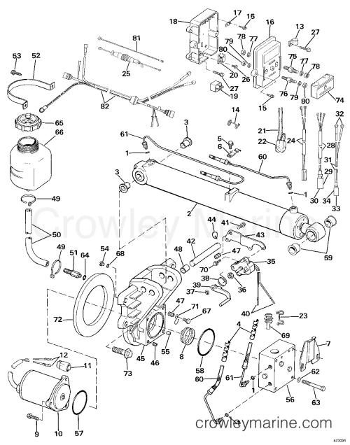 small resolution of 1987 omc sea drive 2 7l port engine 27apphd selectrim