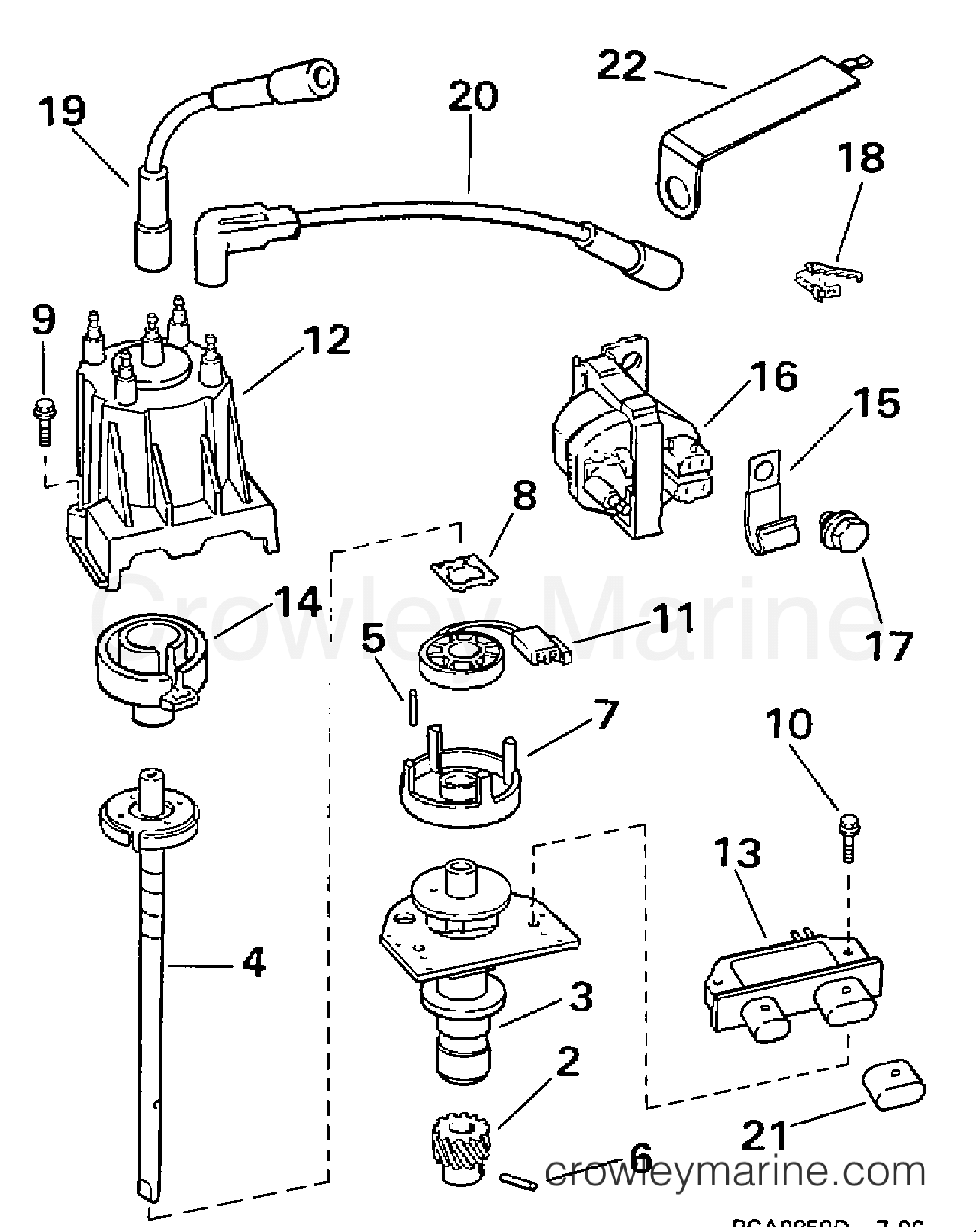 Distributor Amp Ignition Coil