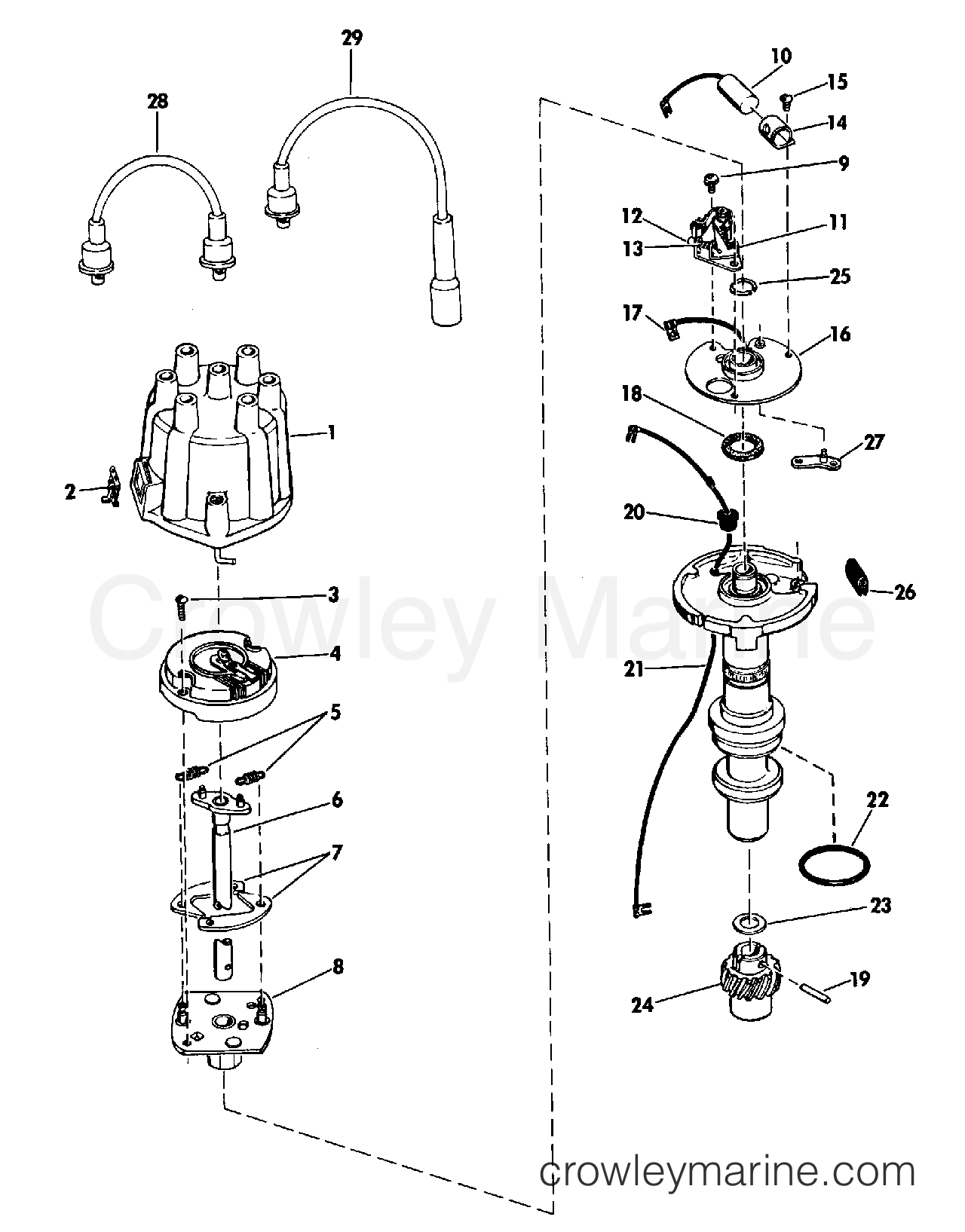 related with delco remy distributor wiring diagram
