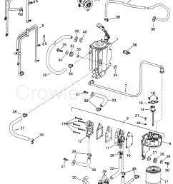 1998 evinrude outboards 115 e115fslecs fuel components section [ 2058 x 2639 Pixel ]