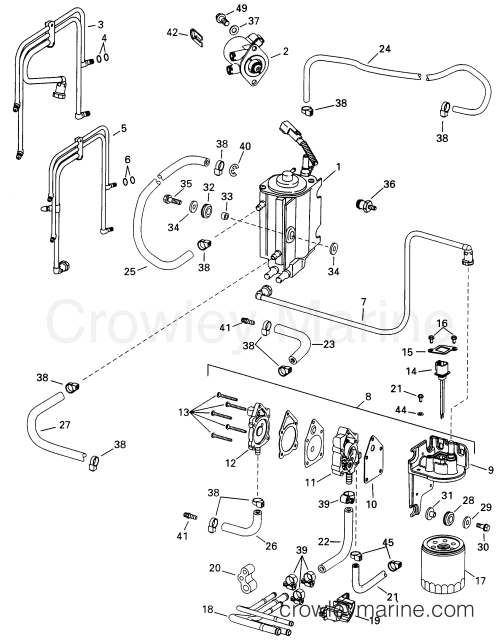 small resolution of 1998 evinrude outboards 115 e115fslecs fuel components section