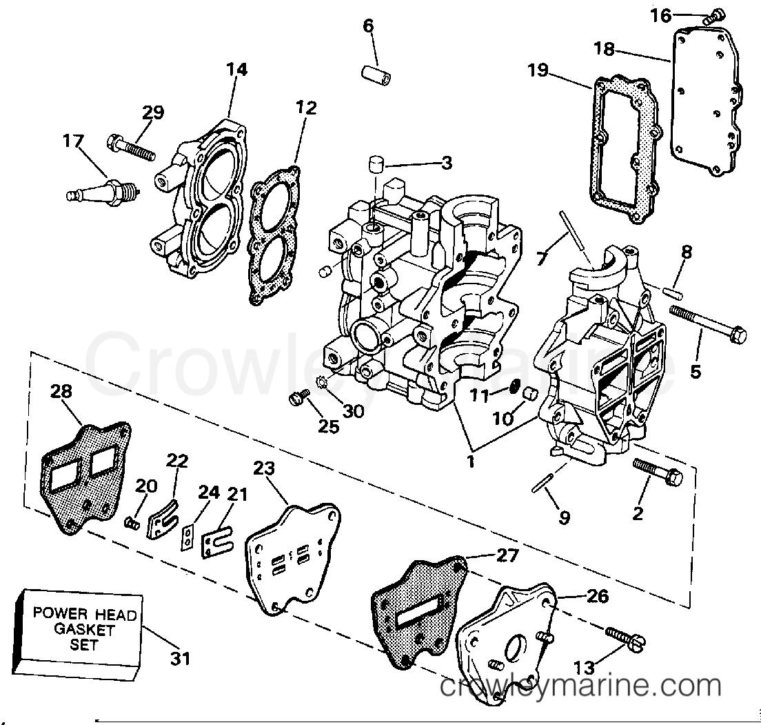 Cylinder Crankcase Amp Intake Manifold