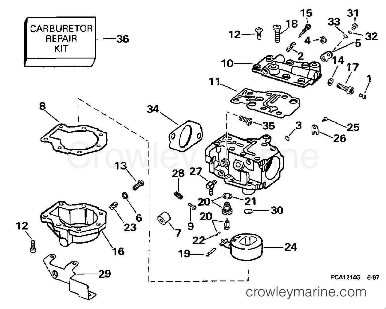 Carburetor 35 Hp