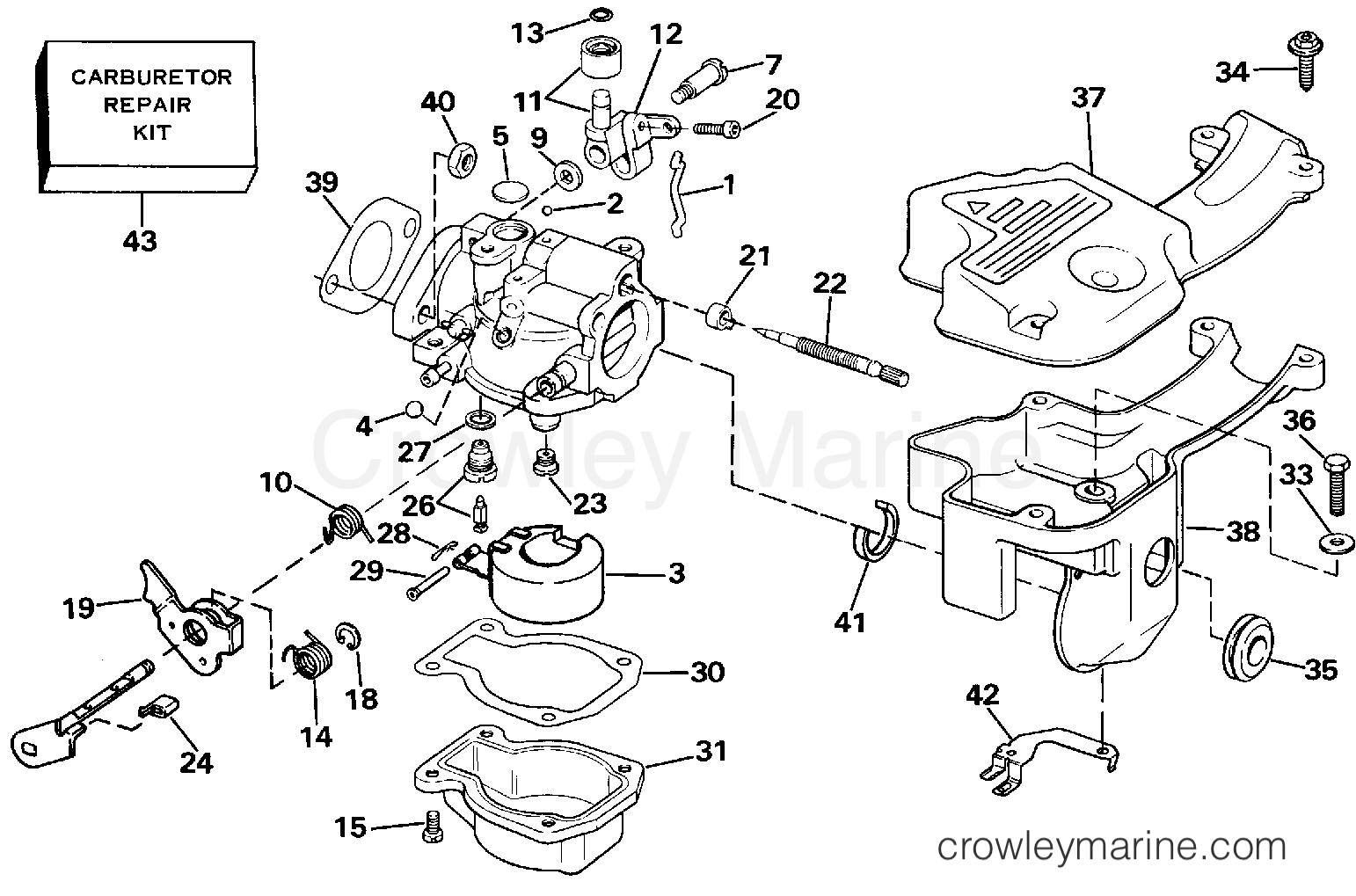 Carburetor P N