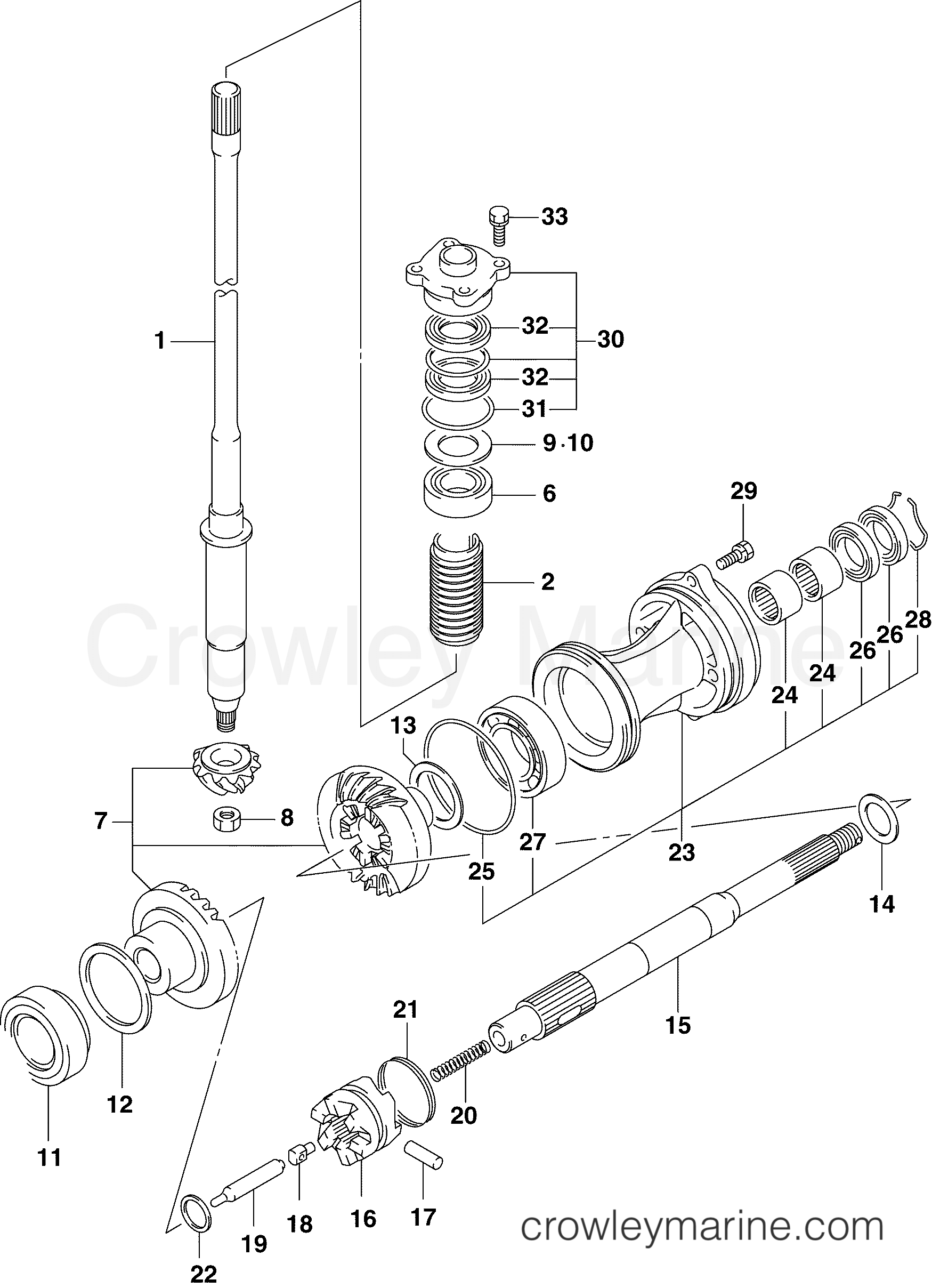 hight resolution of johnson outboard driveshaft propeller shaft diagram and parts driveshaft propeller shaft 2006 johnson outboards 60