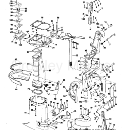 exhaust housing 1971 johnson outboards 125 125esl71c crowley marine and move the diagram 1971 johnson outboards [ 1278 x 1518 Pixel ]