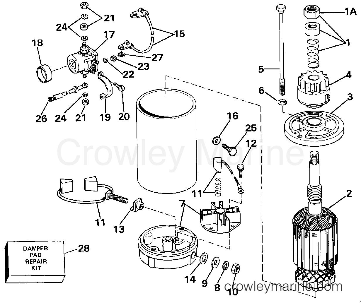 Electric Starter American Bosch 29 Mo30sm