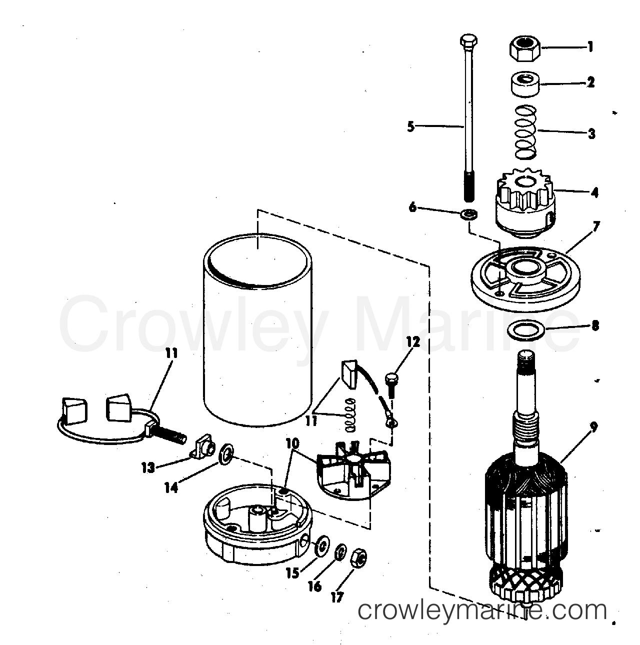 Electric Starter American Bosch 23 M030sm