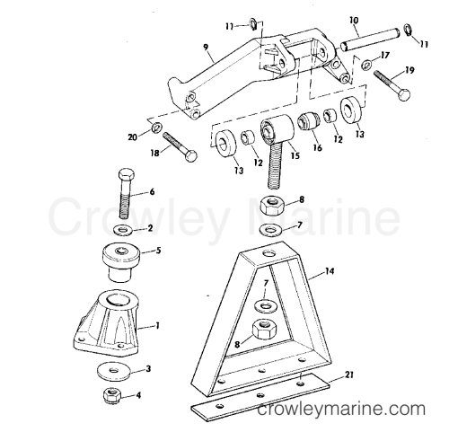 small resolution of engine mount group 165 hp w manual trim r2 suffix models 1975 studebaker supercharged engines with air condition r2 engine diagram
