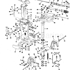 25 Hp Johnson Outboard Parts Diagram Wiring Outlets In Series Exhaust Housing 1978 Evinrude Outboards 25802c
