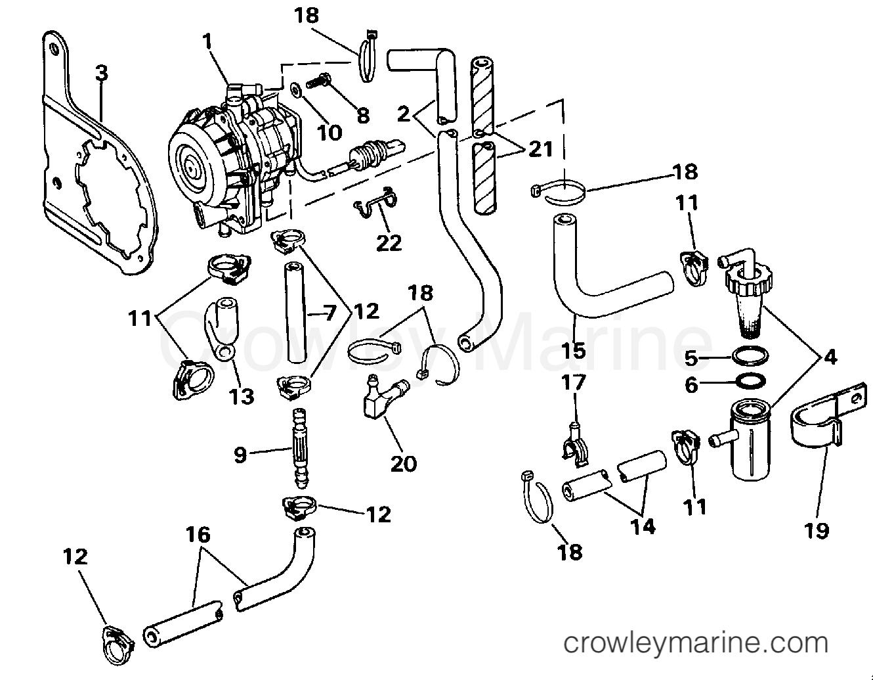 hight resolution of johnson vro fuel pump diagram wiring diagram for you johnson vro fuel pump diagram