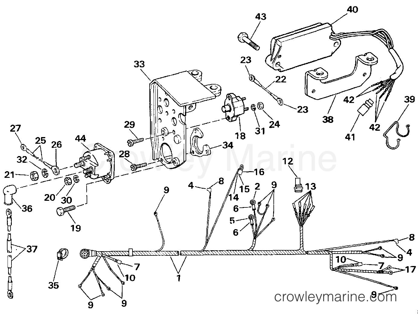 Engine Wire Harness Amp Shift Module